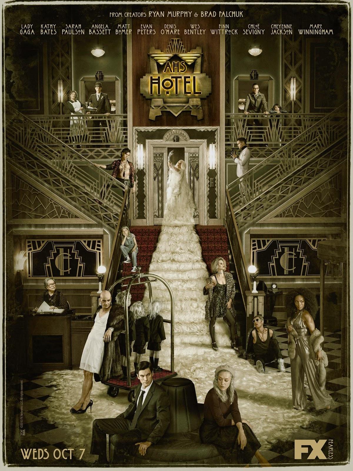 recap of AMERICAN HORROR STORY: HOTEL episode 1: - BROSE TV