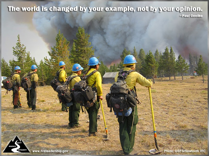 The world is changed by your example, not by your opinion. – Paul Coelho