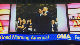 A Brooklyn Wedding Featured on Good Morning America