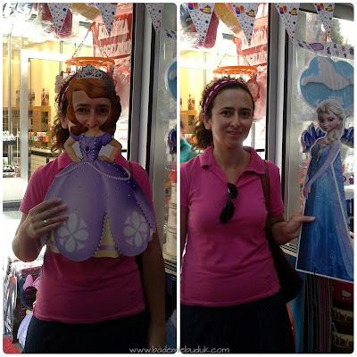 Prenses Sofia Parti Süsleri