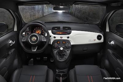 Fiat 500c Abarth Cabrio interior