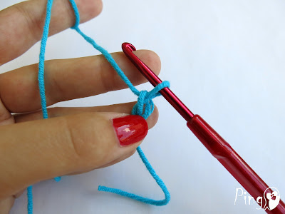 Magic Ring - step by step instruction by Pingo - The Pink Penguin