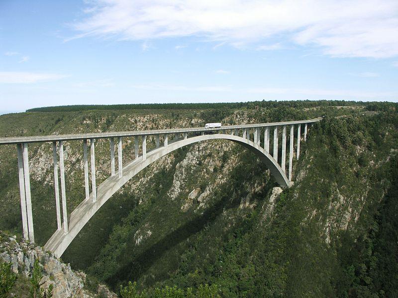 bloukrans bridge is an...
