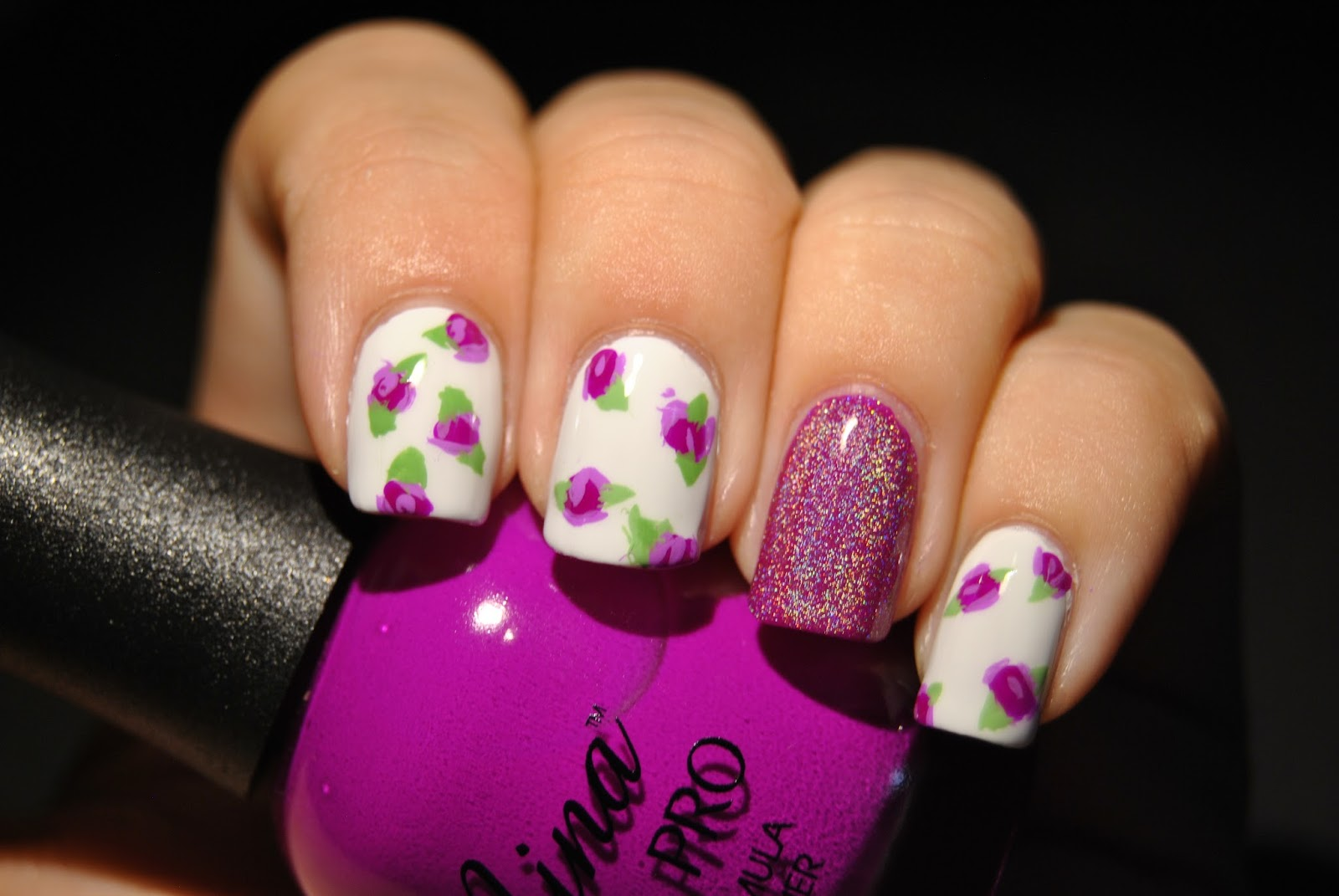 Candy Shoppe Nails: Try It Tuesday: Rose Bud Nails