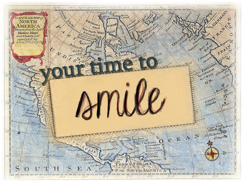 Your time to smile.