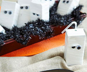 mummy juice box from parents via 41 cutest halloween recipes on cute food for kids