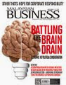 MALAYSIAN BUSINESS SEPT 1st ISSUE OF 2014 NOW ON SALE
