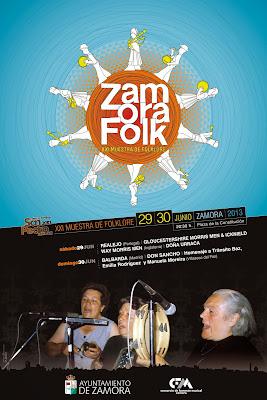 ZamoraFolk. XXI muestra de folklore. Cartel