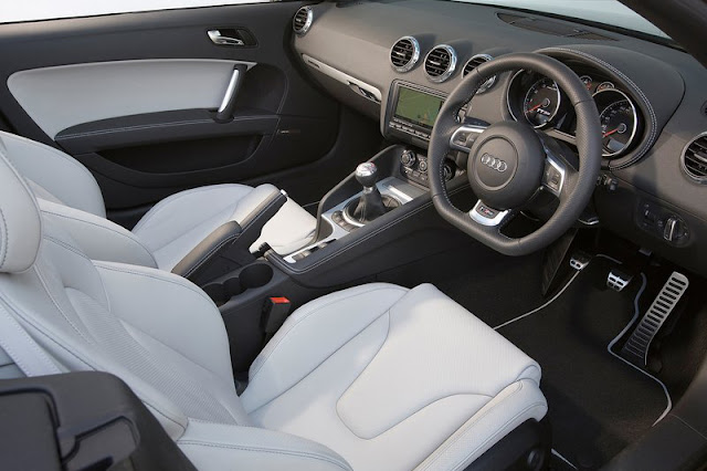 2012 Audi TT RS Roadster Interior Rear View