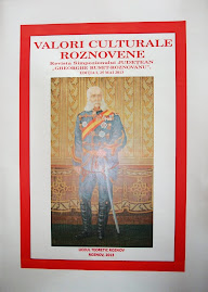 """Coperta 1 - faţă a revistei """"Valori Culturale Roznovene"""", nr. 1/2013"""