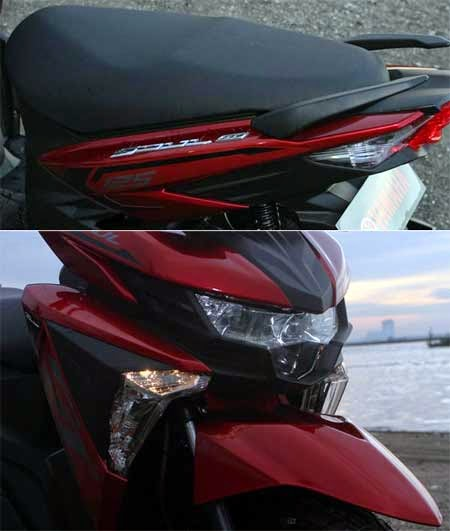 desain headlamp All New Soul GT 2015