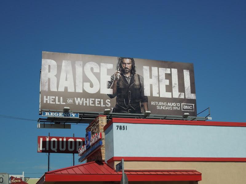 Raise Hell TV billboard