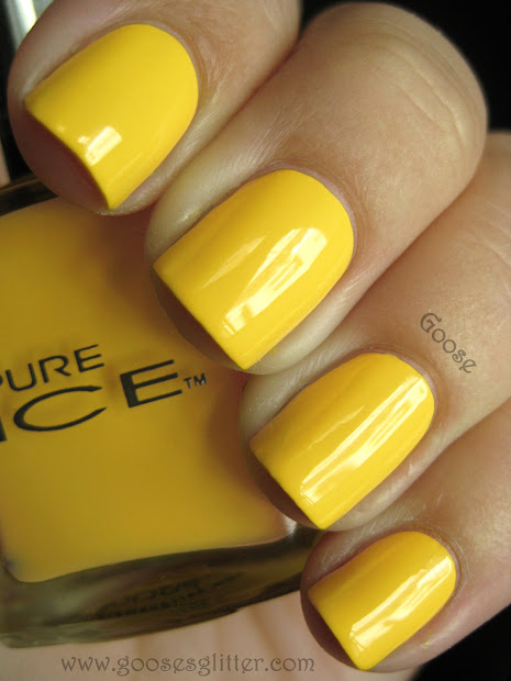 goose's glitter pure ice yellow