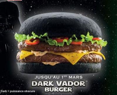 Burger hitam di Perancis