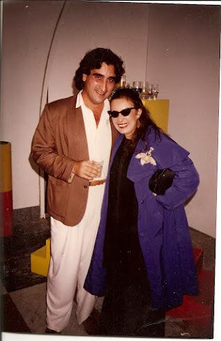 """Con """"Martirio"""" en Galerias Toledo de Madrid. Una de las artistas con mas carisma que he conocido."""