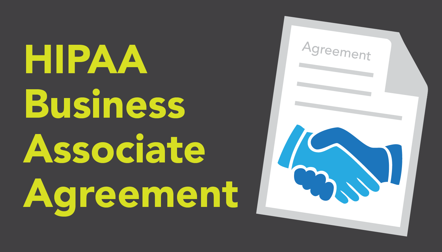 HIPAA Business Associate Agreement Whos Really Responsible – Business Associate Agreement Template