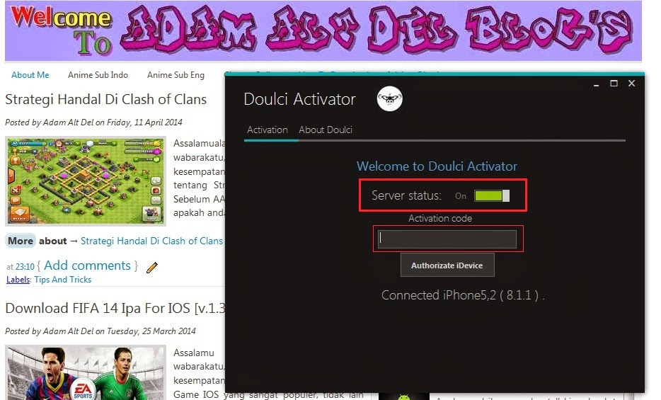 doulci activator  v2 3 for private build