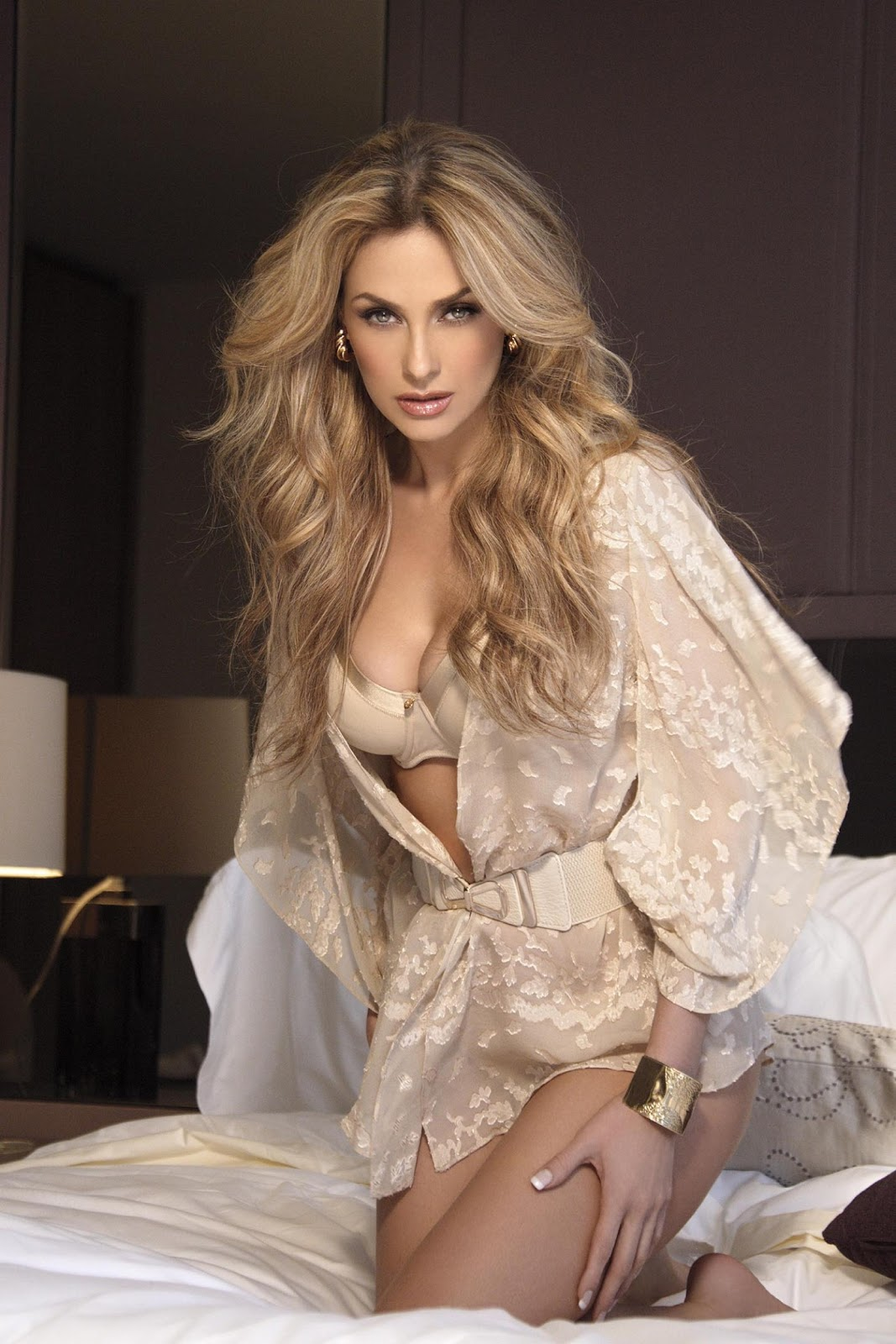 "Revista Flash!: Las fotos provocadoras de Aracely Arámbula en ""Open ..."