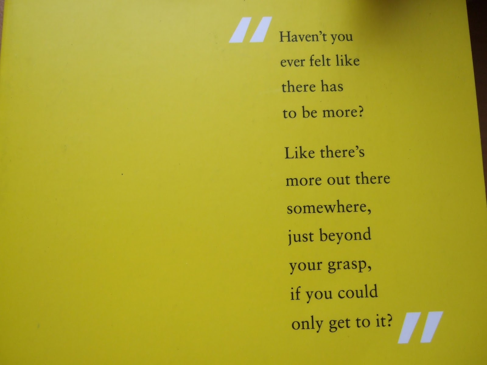 We Made It Quotes More Than This Patrick Ness  Quote Book