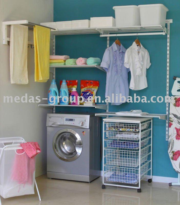 Diy decora o lavanderias - Organizador de lavanderia ...