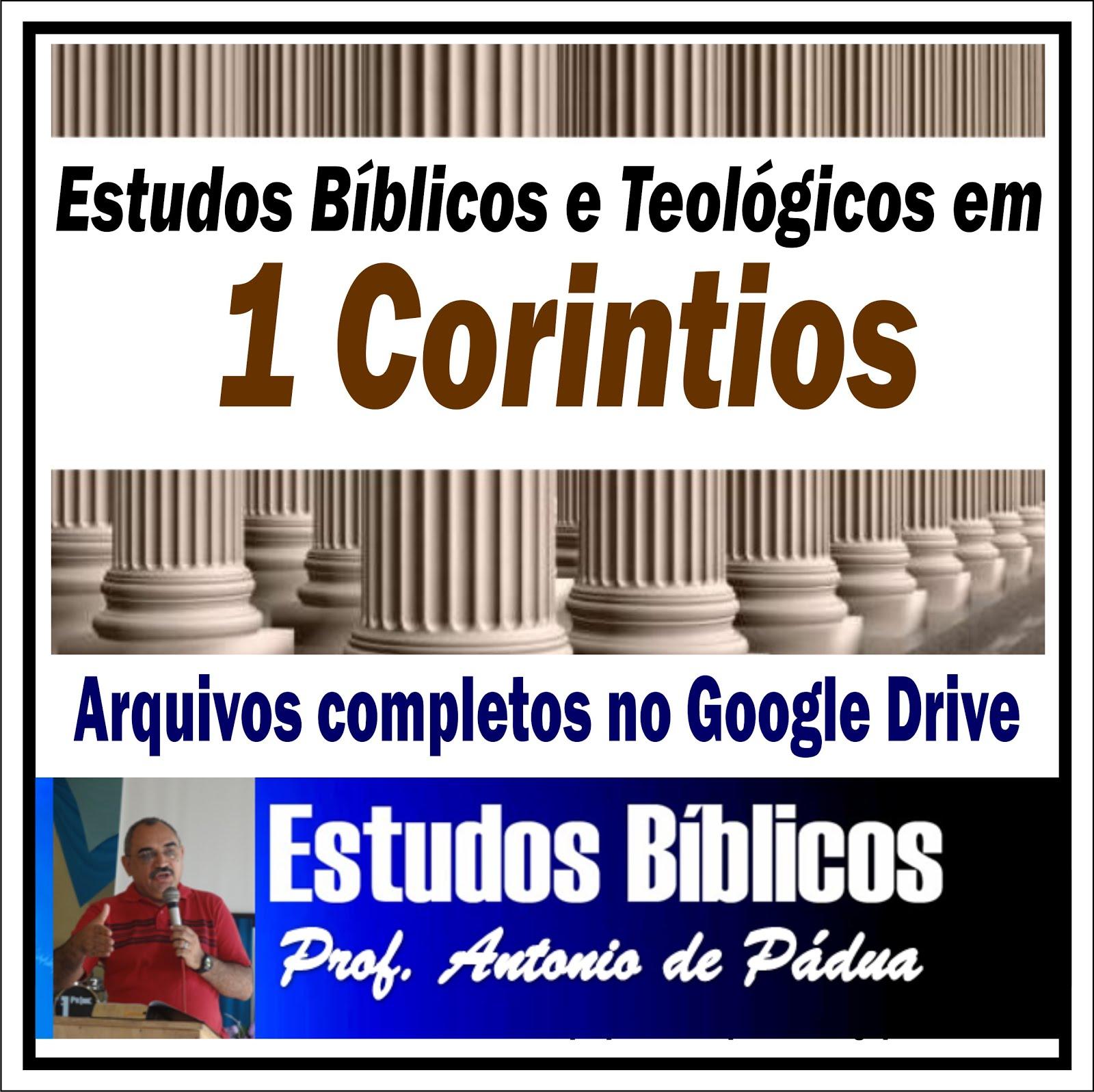 Estudos Bíblicos e Teológicos em ! Coríntios