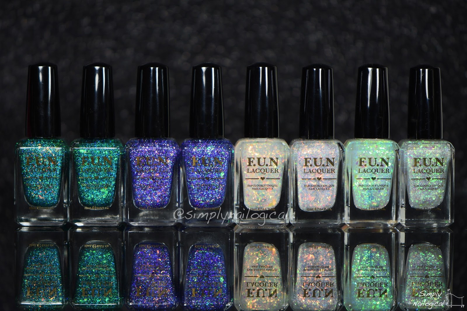 Simply Nailogical: FUN Lacquer 2015 2nd Anniversary Collection