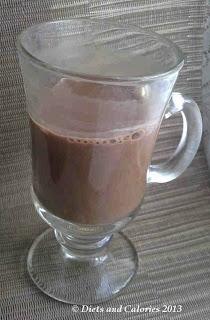 Sweet Freedom Choc Shot hot chocolate drink