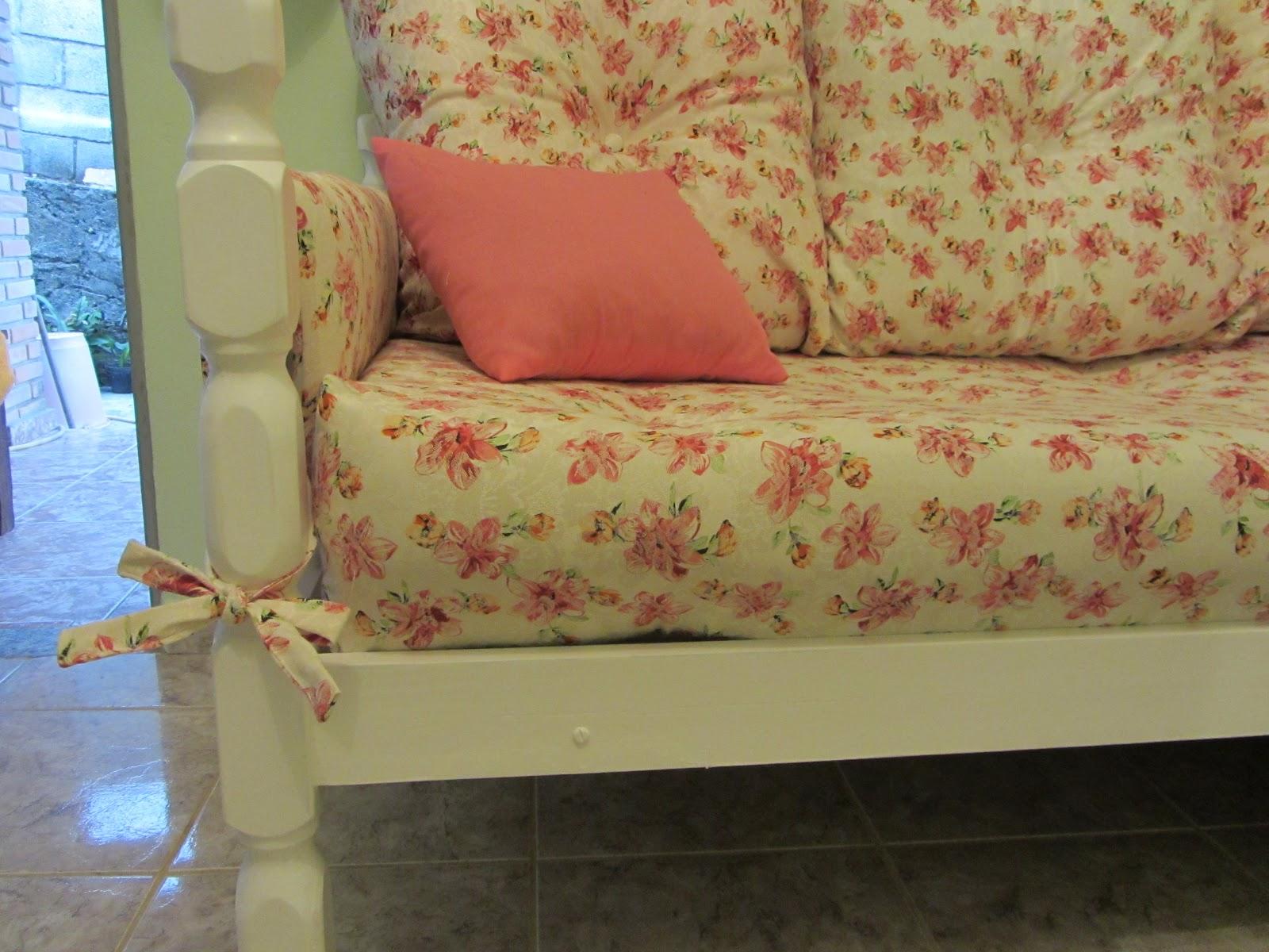 Coisas da Dê: Transformando cama em sofá #097BC2 1600x1200