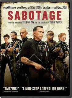 Sabotage (2014) Movie Poster