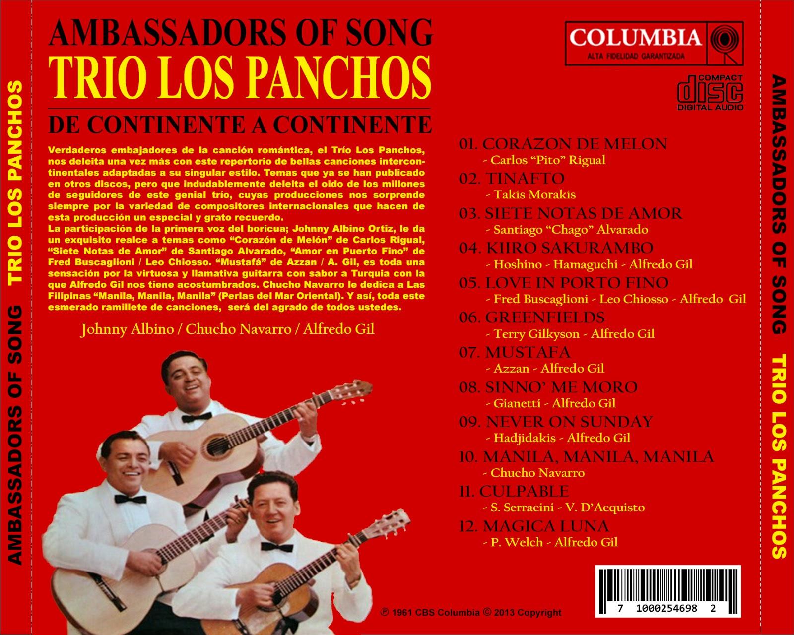 Trio Los Panchos Latin Hits