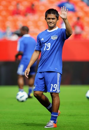 National football captain Sunil Chhetri