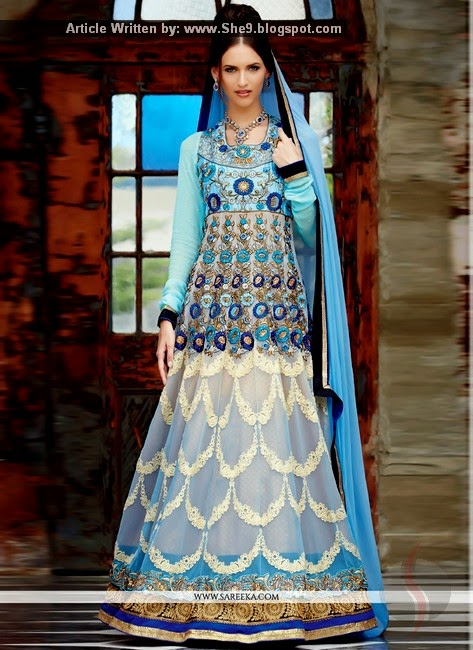 Indian Anarkali Dress Designs
