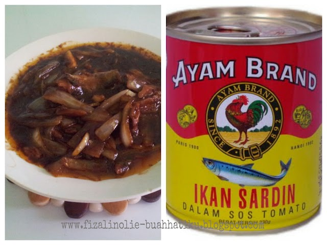 Ikan Sardin Ayam Brand Pun Sedap!