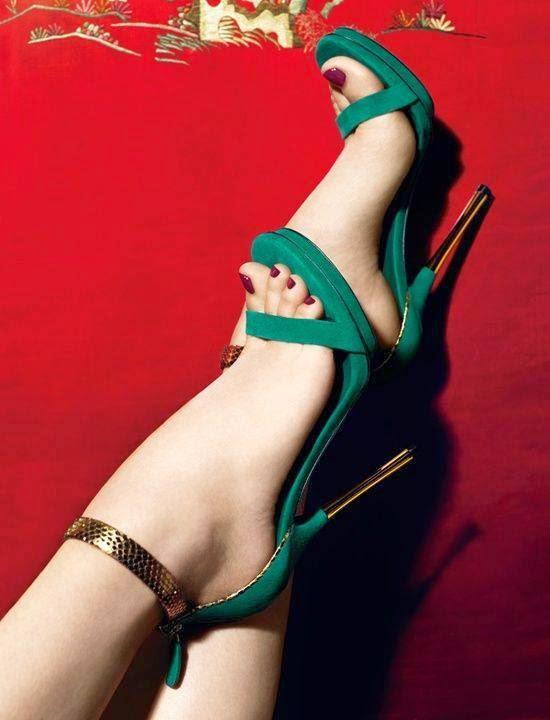 Platform High Heels #1