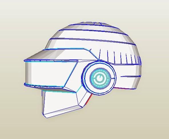 Dali lomo daft punk thomas costume helmet diy pdf template daft punk thomas costume helmet diy pdf template pronofoot35fo Image collections