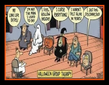 halloween therapy group cartoon