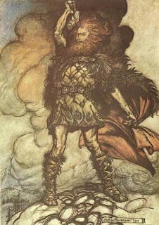 Desenho de Thor