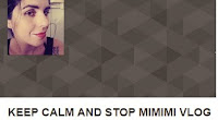 keep calm and stop mimimi vlog