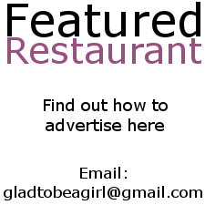 Find out how to become a Featured Restaurant and advertise on www.gladtobeagirl.co.za