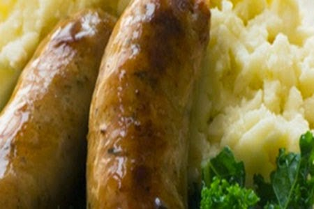 Resep Masakan Mancanegara Tumis Sosis Lada Hitam Dengan Mashed Potato