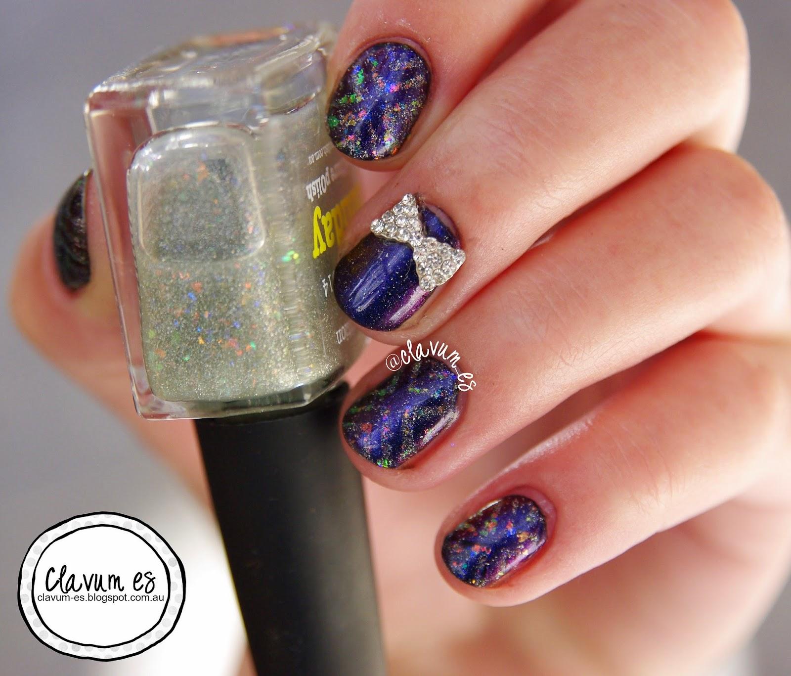 Flakie Nail Art