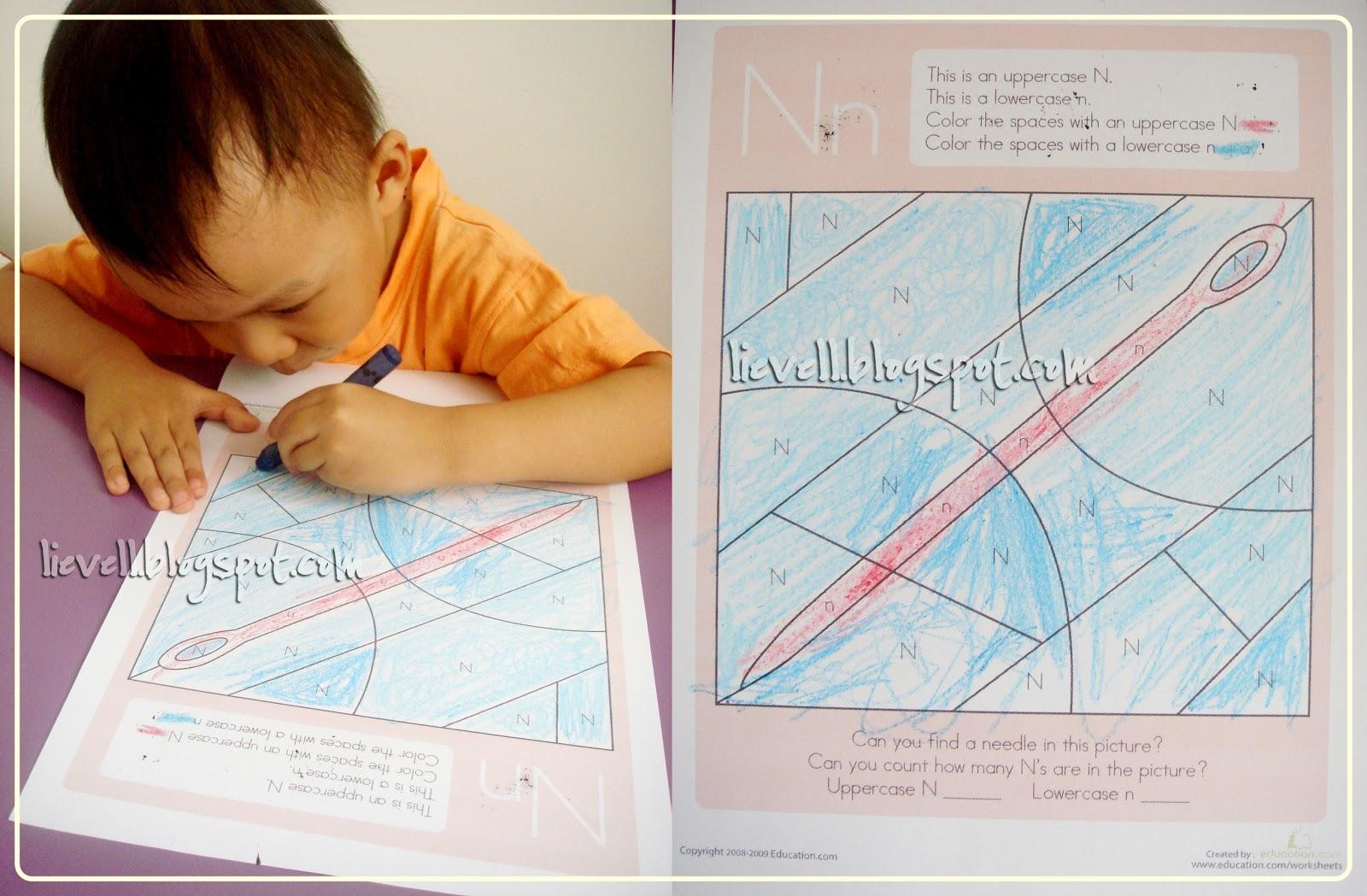 Simply-hood: Preschool : Letter N