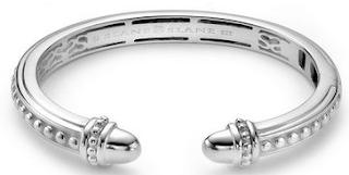 Easily removable Slane's sterling silver bracelet