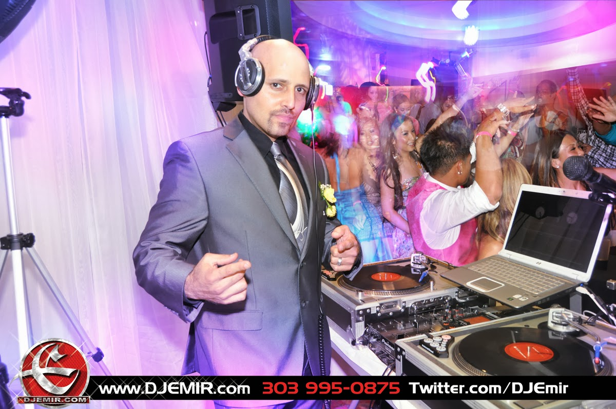 DJ Emir Santana Denver Event and Wedding DJ