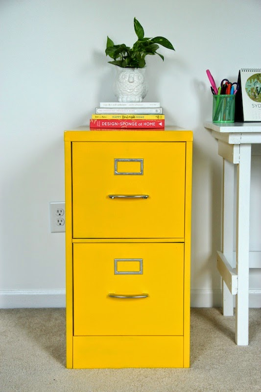 If Youu0027re Looking For A Colorful File Cabinet, I Would Suggest Trying To Spray  Paint An Old One First! It Really Was An Easy DIY Project, And You Can Find  ...