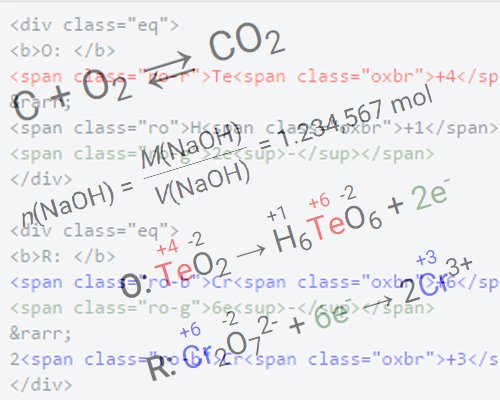Menulis Persamaan Matematis dan Kimia di Web