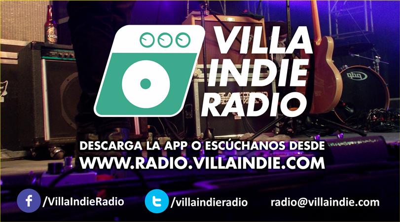Tu banda sonando en la programación de Villa Indie Radio