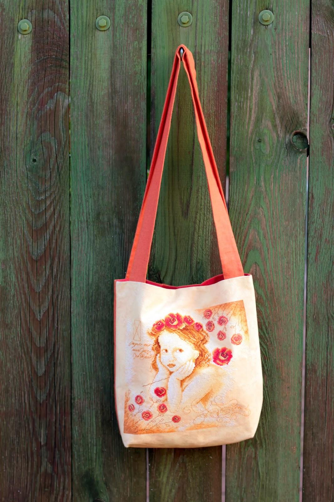 Идеи по вышивке на сумке