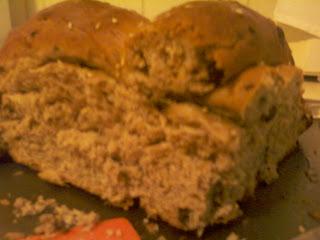 pan de fiesta griego christopsomos