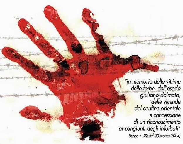 eventi a Milano per il giorno del ricordo in memoria delle vittime delle foibe